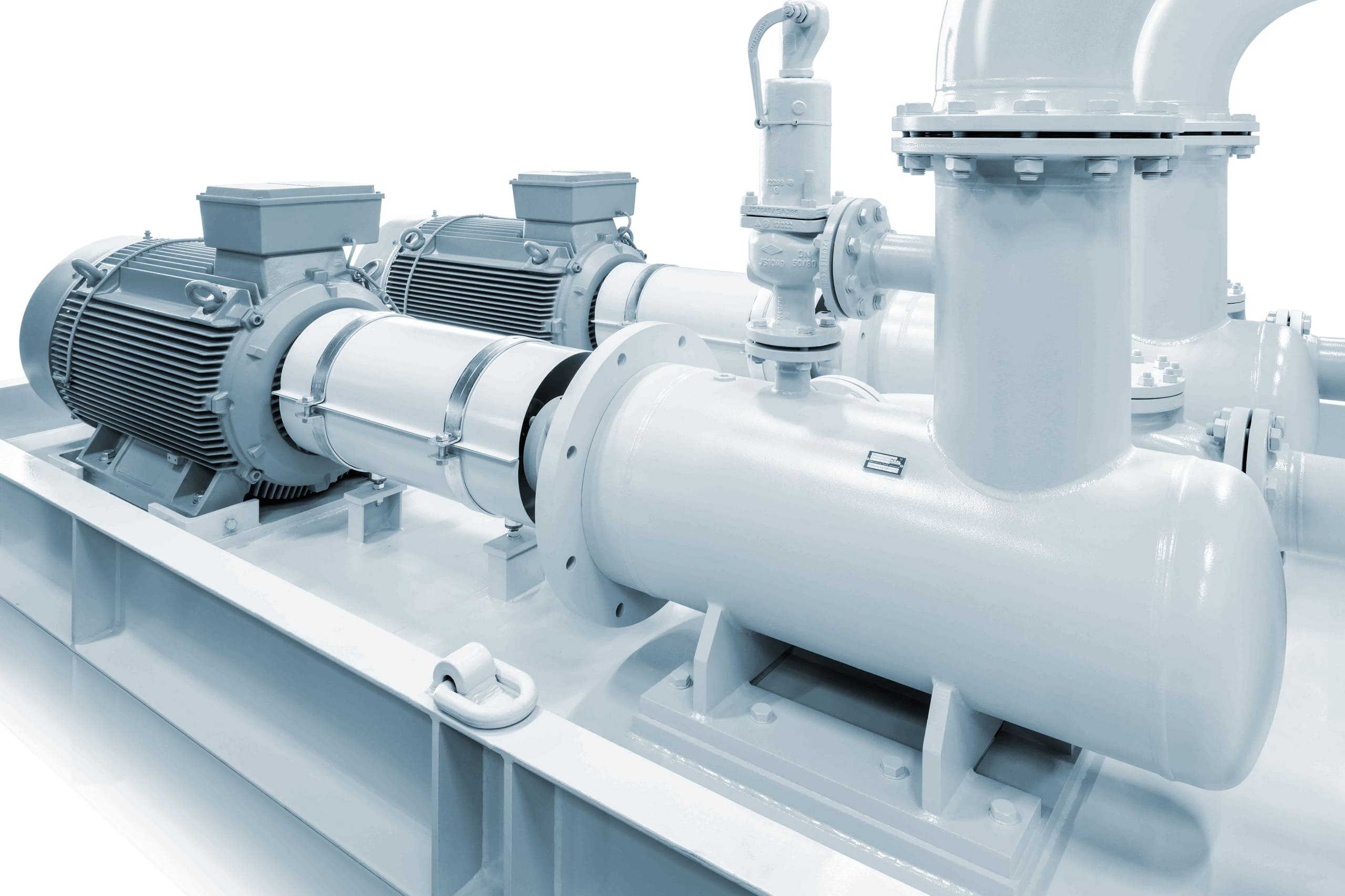 Screw pumps special projects white pumps