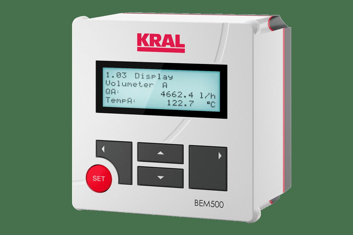 KRAL Display and Processing Unit BEM 500