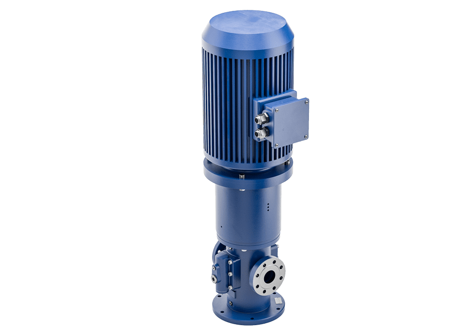 CG pedestal screw pump saving space they pumps are for vertical installation.