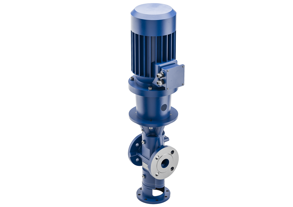 screw pump L series the right choice if the installation area is narrow or if there is not enough space available.
