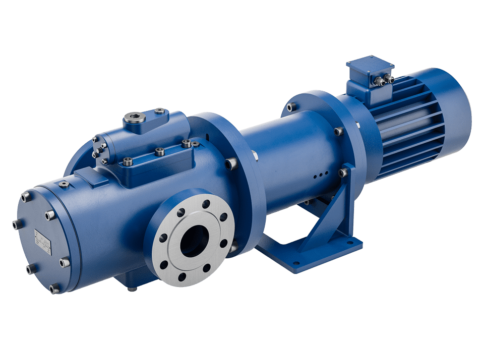 screw pump series C in horizontal installation