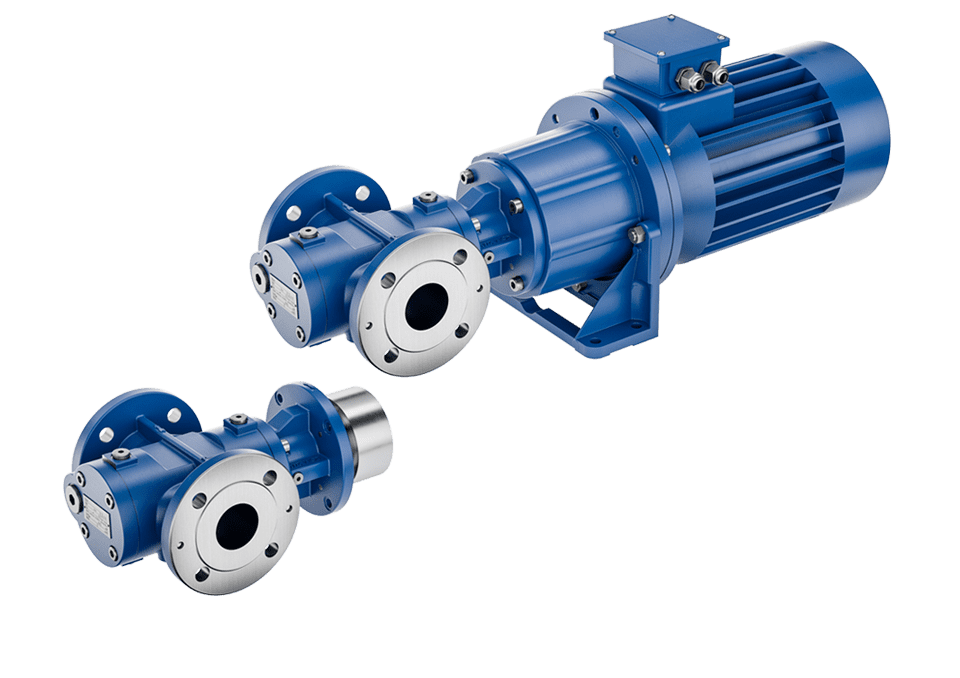 Screw pumps with magnetic coupling no more mechanical seal problems
