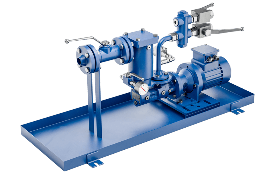 screw pumps single station